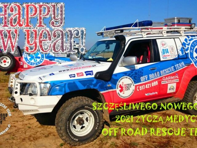 off road rescue team HAPPY NEW YEAR 2021
